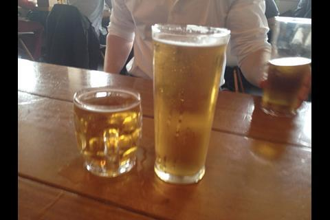 Building buys a pint